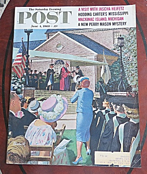 Saturday Evening Post June 4, 1960 Jascha Heifetz
