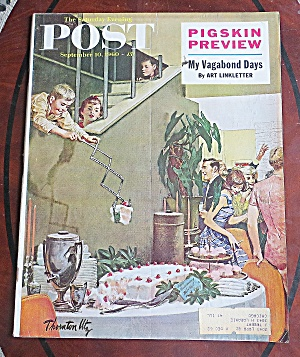 Saturday Evening Post Sept 10, 1960 Vagabond Day (Image1)