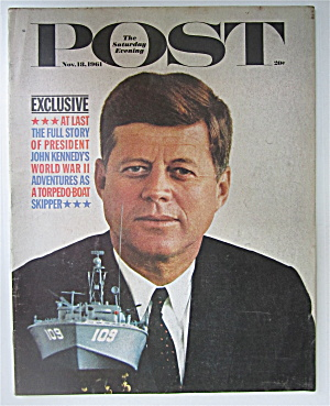 Saturday Evening Post November 18, 1961 Kennedy