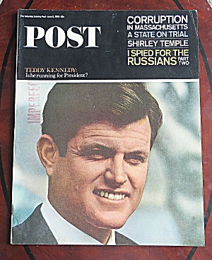 Saturday Evening Post June 5, 1965 Ted Kennedy