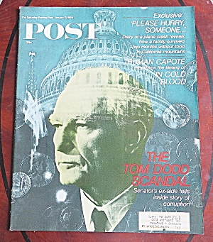 Saturday Evening Post Jan 13, 1968 Tom Dodd