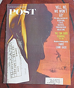 Saturday Evening Post Jan 27, 1968 Tom Dodd