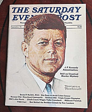 Saturday Evening Post September 1975 John F. Kennedy