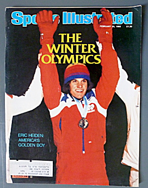 Sports Illustrated Magazine-February 25, 1980-E. Heiden (Image1)