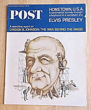 Saturday Evening Post September 11, 1965 Lyndon Johnson