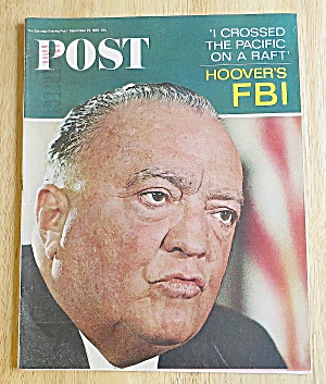 Saturday Evening Post September 25, 1965 Hoover's Fbi