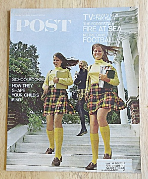 Saturday Evening Post October 7, 1967 School Books
