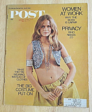 Saturday Evening Post July 27, 1968 Big Costume