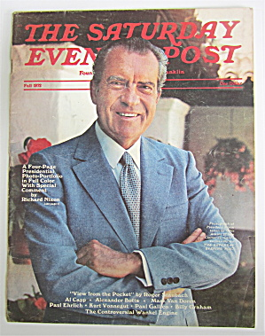 Saturday Evening Post Fall 1972 Richard Nixon