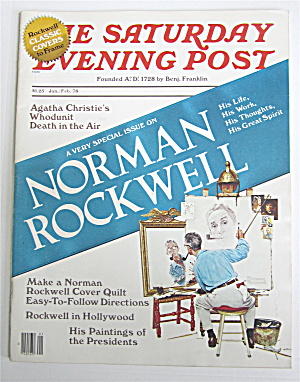 Saturday Evening Post January-february 1978 N. Rockwell
