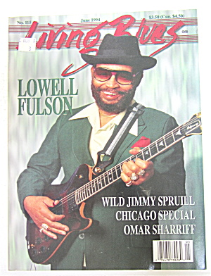 Living Blues Magazine June 1994 Lowell Fulson