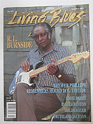 Living Blues Magazine October 1994 R. L. Burnside