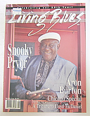 Living Blues Magazine September/october 1995 Snooky
