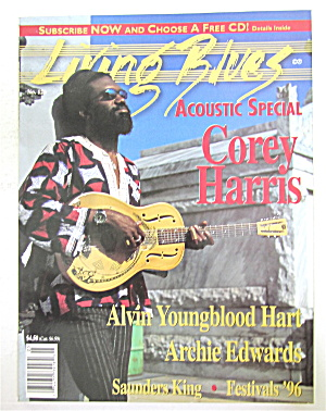 Living Blues Magazine March/april 1996 Corey Harris