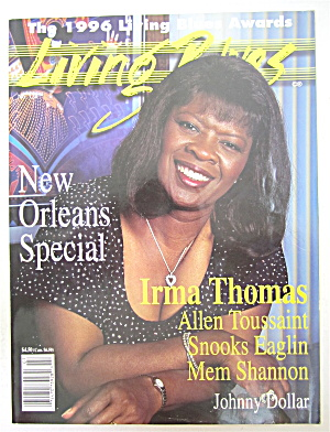 Living Blues Magazine July/august 1996 Irma Thomas