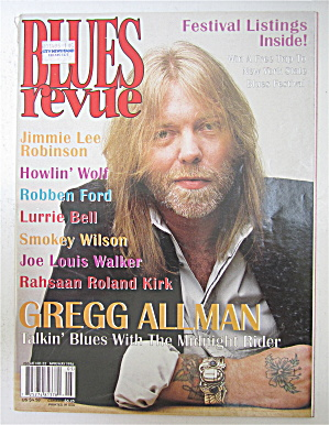 Blues Revue Magazine April/may 1996 Gregg Allman