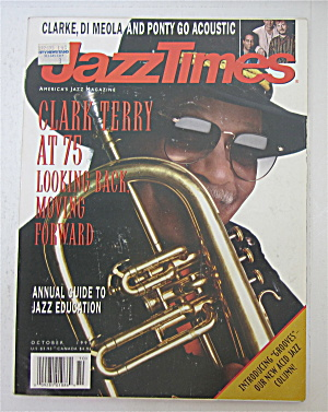 Jazz Times Magazine October 1995 Clark Terry