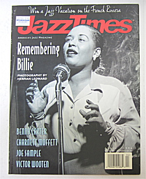 Jazz Times Magazine April 1996 Remembering Billie