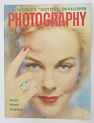 Photography Magazine March 1953 Foster Ensminger