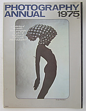 Photography Annual Magazine 1975 Gibson & More
