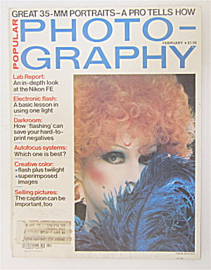 Popular Photography Magazine February 1979 Nikon Fe