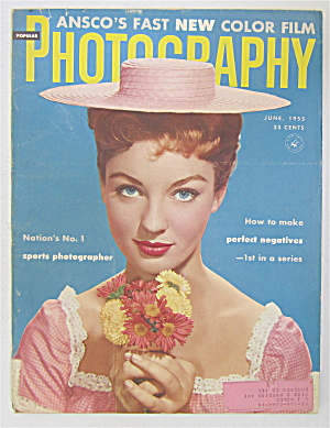 Photography Magazine June 1955 Perfect Negatives