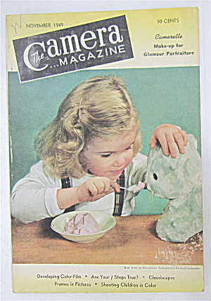 The Camera Magazine November 1949 Developing Color Film
