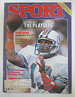 Sport Magazine January 1985 The Playoffs