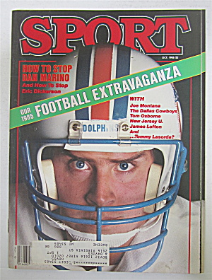 Sport Magazine October 1985 How To Stop Dan Marino