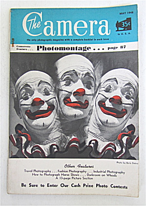 The Camera Magazine May 1948 Photomontage