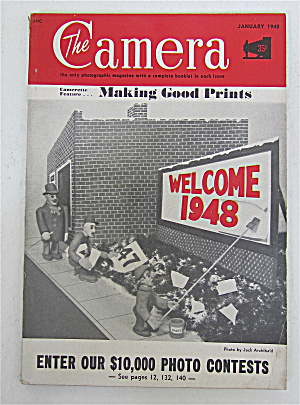 The Camera Magazine January 1948 Making Good Prints