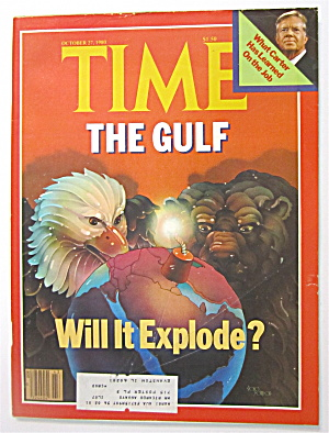 Time Magazine-october 27, 1980-the Gulf