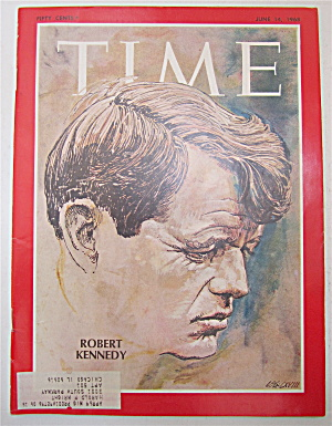 Time Magazine June 14, 1968 Robert Kennedy