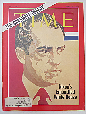 Time Magazine April 20, 1970 Nixon's White House
