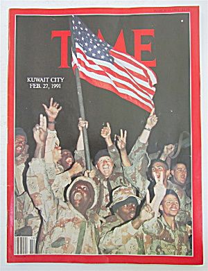 Time Magazine March 11, 1991 Kuwait City