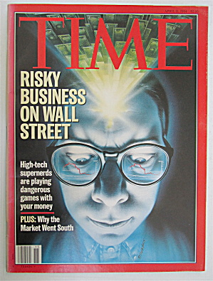Time Magazine April 11, 1994 Wall Street