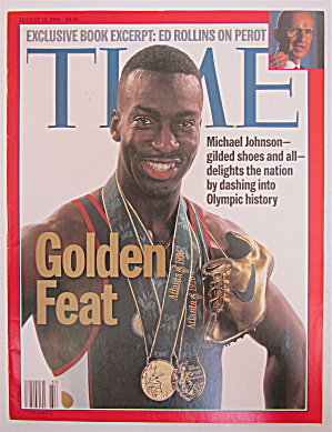 Time Magazine August 12, 1996 Golden Feat