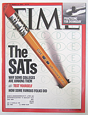Time Magazine March 12, 2001 The Sats