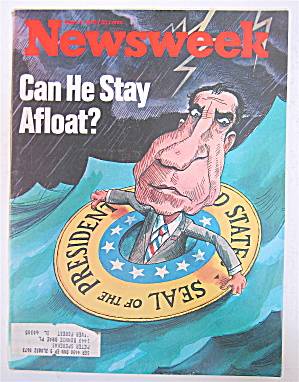 Newsweek Magazine-May 14, 1973-Can He Stay Afloat? (Image1)