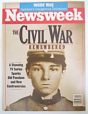 Newsweek Magazine October 8, 1990 The Civil War