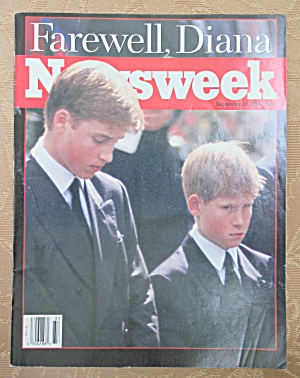 Newsweek Magazine September 15, 1997 Farewell, Diana