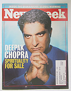 Newsweek Magazine October 20, 1997 Deepak Chopra