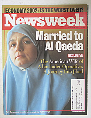 Newsweek Magazine January 14, 2002 Married To Al Qaeda