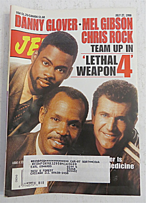 Jet Magazine July 27, 1998 Lethal Weapon 4