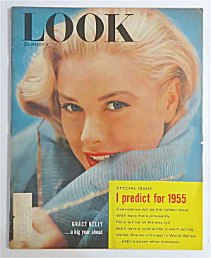 Look Magazine January 11, 1955 Grace Kelly