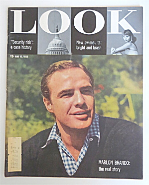 Look Magazine May 17, 1955 Marlon Brando
