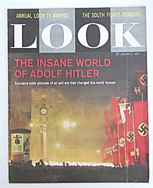 Look Magazine January 6, 1959 Adolf Hitler