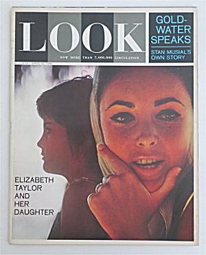 Look Magazine April 21, 1964 Elizabeth Taylor