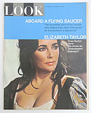 Look Magazine October 4, 1966 Elizabeth Taylor