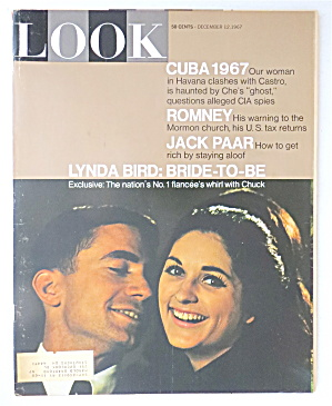 Look Magazine December 12, 1967 Jack Paar/lynda Bird